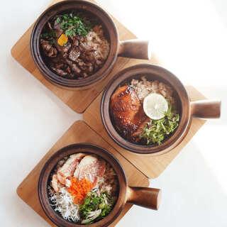 「山の幸」「海の幸」を表現した多種多様な料理