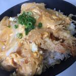 城山食堂 - 天ぷら丼