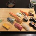 美ゆ喜鮨 - 料理写真:にぎりランチ1,100円税込
