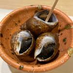 魚処ほり川 - 付け出し つぶ貝