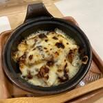 魚処ほり川 - 茄子のチーズ焼き