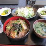 """14695248 - 日替わりメニュー""""阿波ポーク 自家製焼き豚丼(500円)"""