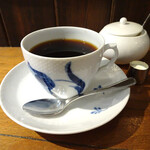 乙コーヒー - 乙ブレンド1番(深煎り)550円(ケーキとセットで)
