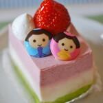 シーシー - 料理写真:(2021/2月)ひなケーキ