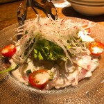 イタリアンバル 2538 - 本日の鮮魚のカルパッチョ