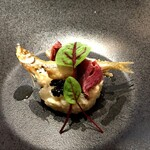 TEPATOMOKA - ワカサギ カリフラワー 鴨ハム キャビア