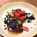 TEPATOMOKA - フルムダンベールのガトー 苺とミント ブラックペッパー カカオニブ