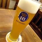 ツムビアホフ - ごくごくドイツ生ビール
