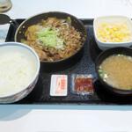 吉野家 - 料理写真:牛焼肉定食657円