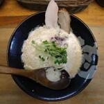 ぼっこ志 - 鶏白湯(780円、真上から)