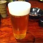 炭火焼鳥 徳川 - ビール