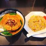 中華料理 佰吉 - 台湾味噌ラーメン、炒飯