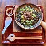 台所 ようは - 『黒胡麻坦々麻辣煮込み麺』様(1100円)