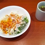 ヨシズハイ - サラダとスープ