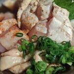Toriken - 赤鶏のたたき(850円)