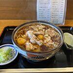 そば処 大和 - 鶏もつそば(900円)