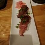 146983511 - 牛トロ炙り寿司
