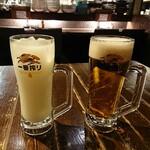 居酒屋 龍のす - カルピスウォーター 300円/キリン一番搾り 500円