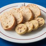 ル・キャトルズ - クルミとホワイトチョコレートの無花果バター