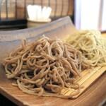 手打蕎麦 まるやま - 料理写真:二種盛り=1550円