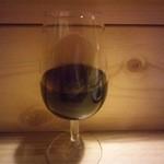 T's - 赤ワイングラス