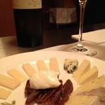 ル・リベレール - チーズの盛り合わせ