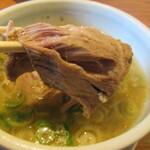麺 一直 - ホロホロなチャーシュー