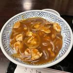 Kandamatsuya - カレー丼(アップ)