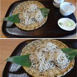 蕎麦や 口福 - せいろ。蕎麦や口福(愛知県岡崎市)