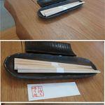 口福 - 持ち帰り箸袋。蕎麦や口福(愛知県岡崎市)