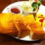 ミモザ - スクランブルエッゴセット600円