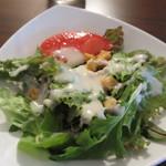 ファシル - +180円のサラダ、ドリンクセットのサラダ