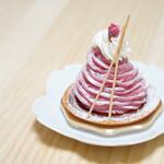 パチシェ ヴォワザン - 料理写真:桜モンブラン