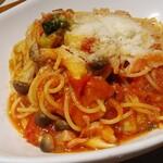 王様の食卓 - トマトパスタ大盛