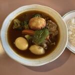 スープカリィの店 ショルバー - 料理写真: