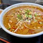 中国飯店真味 - 坦々刀削麺 アップ