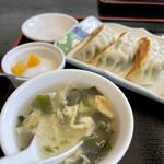 中国飯店真味 - ワカメ玉子スープ