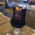 polkadot - アイスコーヒー。 喫茶店らしくしっかり濃いやつ!