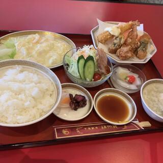満州楼 - 料理写真:エビマヨ定食¥1280