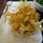 丸亀製麺 - かき揚げ