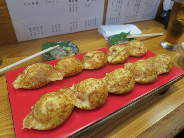 菊兆 北野坂店 - 明石焼き