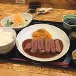 はふう - 特選牛ビフカツ(3000円)
