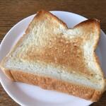 遅刻のすすめ - 食パン(トースト)