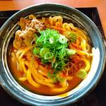 香の川製麺 - 料理写真:肉カレーうどん 2玉 税込640円