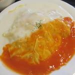 トエニ - オムレツスパゲティー(735円)