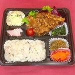 寒天茶房遊夢本店 - 焼肉弁当