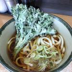 どん八 - 料理写真:春菊うどん