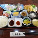網元料理萬蔵丸 - 料理写真:網元定食
