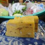 網元料理萬蔵丸 - 網元定食の玉子焼き