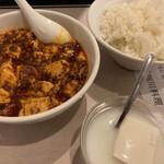 龍門 - 麻婆豆腐、杏仁豆腐
